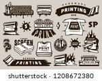 big collection of screen... | Shutterstock .eps vector #1208672380