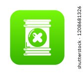 toxic waste container icon... | Shutterstock .eps vector #1208681326