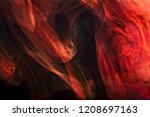 abstract liquid liquid streams... | Shutterstock . vector #1208697163