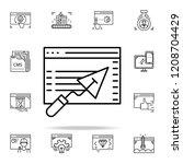 building website icon. web...