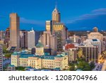 indianapolis  indiana  usa... | Shutterstock . vector #1208704966