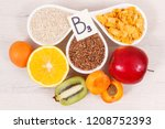 nutritious food as source... | Shutterstock . vector #1208752393