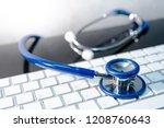 medical science technology... | Shutterstock . vector #1208760643