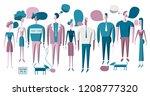 vector illustration various...   Shutterstock .eps vector #1208777320