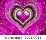 Pink Hearts Background Perfect...