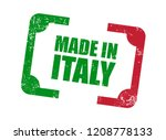 made in italy | Shutterstock .eps vector #1208778133