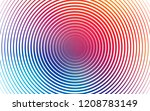 light blue  red vector...   Shutterstock .eps vector #1208783149