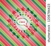speech bubble icon inside...   Shutterstock .eps vector #1208786623