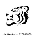 tiger   vector illustration | Shutterstock .eps vector #120881830