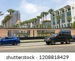 los angeles  june 5th  2018 ...   Shutterstock . vector #1208818429