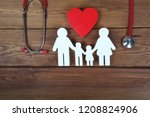 health care and insurance... | Shutterstock . vector #1208824906