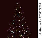 sprinkles grainy. sweet...   Shutterstock .eps vector #1208827993