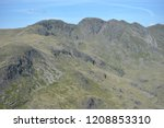 crinkle crags from summit of... | Shutterstock . vector #1208853310