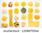 variety of types and shapes of... | Shutterstock . vector #1208870566