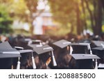 group of graduates during... | Shutterstock . vector #1208885800