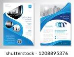 template vector design for... | Shutterstock .eps vector #1208895376