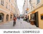 salzburg  austria   september...   Shutterstock . vector #1208903113