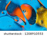 scientific image of cell... | Shutterstock . vector #1208910553