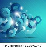 vector abstract background ... | Shutterstock .eps vector #120891940