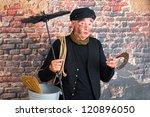 Chimney Sweep Wishing Good...