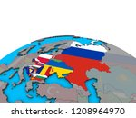 eastern europe with embedded... | Shutterstock . vector #1208964970