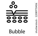 bubble vector icon design   Shutterstock .eps vector #1208970406
