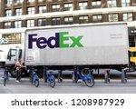 new york  usa   may 24  2018 ... | Shutterstock . vector #1208987929