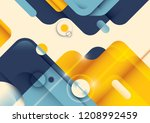 modish abstract template in... | Shutterstock .eps vector #1208992459