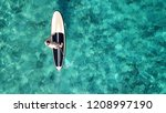 aerial drone photo of... | Shutterstock . vector #1208997190