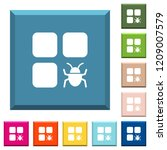 component bug white icons on... | Shutterstock .eps vector #1209007579