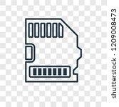 big sd card concept vector...