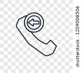incoming phone concept vector...