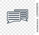 message balloon concept vector...