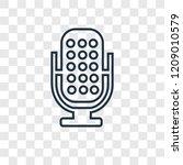 voice recorder concept vector... | Shutterstock .eps vector #1209010579