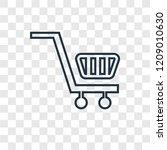 shopping cart concept vector...