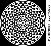 Black And White Circular...