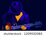 Musician With A Guitar....
