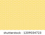 seamless pattern with white and ... | Shutterstock . vector #1209034723