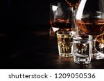 set of strong alcoholic drinks... | Shutterstock . vector #1209050536