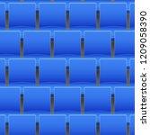 background of blue plastic... | Shutterstock .eps vector #1209058390