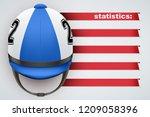 background of hippodrome... | Shutterstock .eps vector #1209058396