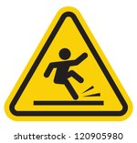 wet floor warning sign | Shutterstock .eps vector #120905980
