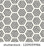 geometric hexagon seamless... | Shutterstock .eps vector #1209059986