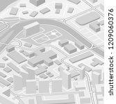 city map navigation  color... | Shutterstock .eps vector #1209060376