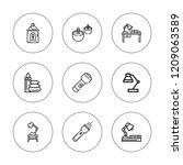 illuminate icon set. collection ... | Shutterstock .eps vector #1209063589