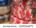 two naked electrical wires | Shutterstock . vector #1209064879