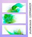 abstract background with green...   Shutterstock .eps vector #1209068329