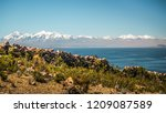 andes mountains range view of... | Shutterstock . vector #1209087589