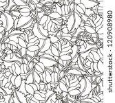 roses background   Shutterstock .eps vector #120908980