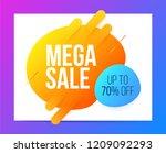 banner design in modern style... | Shutterstock .eps vector #1209092293